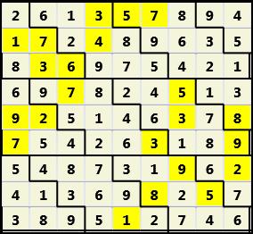 Diamond L(2,1) D(22,17,0,0,0,0)  Solution