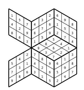 Tredoku vsn03, isometric grid