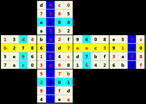 4X4 Cube L(2,1) D(41,6,0,0,0,0)   2013-01-21 155141 Solution