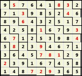 Backslash L(2,1) D(19,9,0,0,0,0)  2013-05-01 002645 Solution