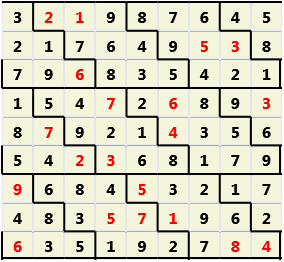 Diamond L(2,1) D(20,13,0,0,0,0)  2013-01-07 235635 Solution
