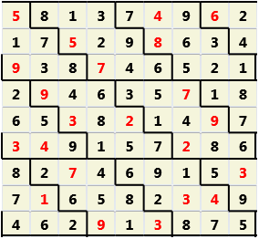 Diamond L(2,1) D(22,16,0,0,0,0)  2013-04-16 235014 Solution
