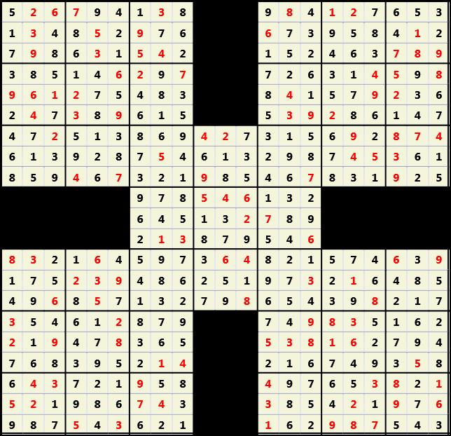 Samurai L(2,1) D(115,9,0,0,0,0)  2013-04-19 000349 Solution