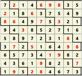 Diamond L(2,1) D(23,10,0,0,0,0)  2013-04-16 235022 Solution