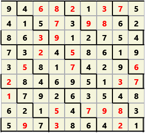 Diamond L(2,1) D(26,9,0,0,0,0)  2013-04-16 235045 Solution