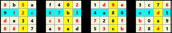 3D 4X4 Cube L(2,1) D(30,5,0,0,0,0)   2013-01-09 221601 Solution