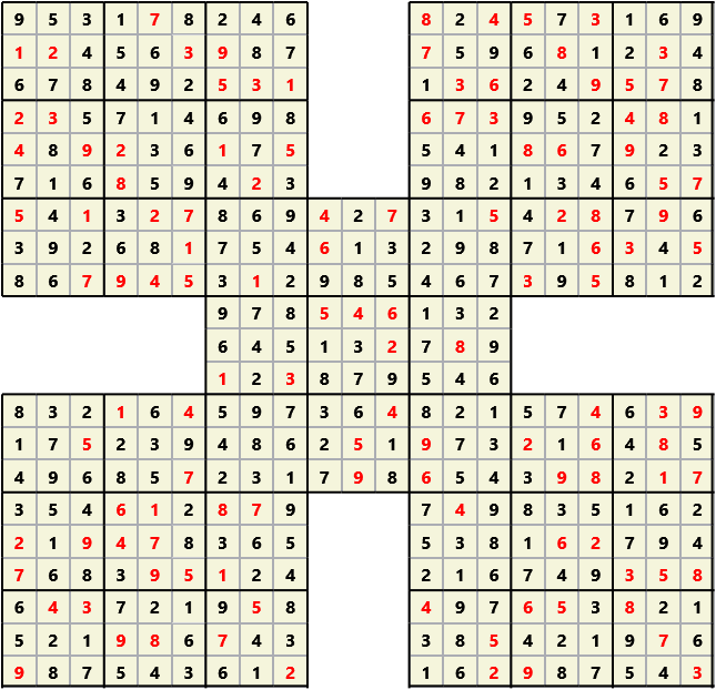 Samurai L(2,1) D(122,10,0,0,0,0)  2013-04-19 000632 Solution