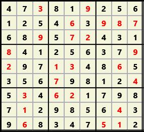 Sudoku 9X9 L(1,2) D(25,15,1,0,0,0)  2013-01-21 132437 Solution