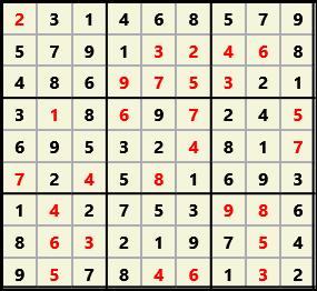 Sudoku 9X9 L(1,2) D(28,10,1,0,0,0)  2013-03-29 111703 Solution