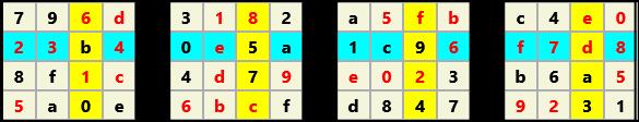 3D 4X4 Cube L(2,1) D(32,5,0,0,0,0)   2013-01-09 221556 Solution