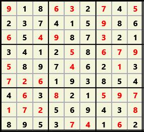 Sudoku 9X9 L(1,1) D(32,4,0,0,0,0)  2013-03-29 111654 Solution