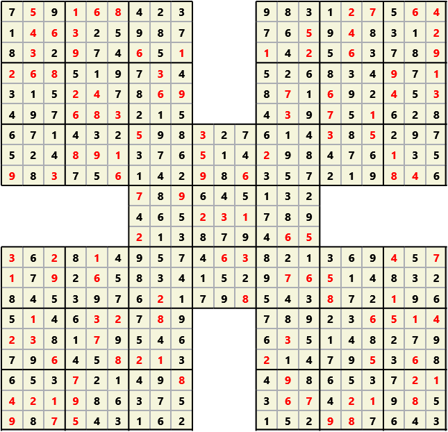 Samurai L(2,1) D(122,12,0,0,0,0)  2013-04-18 235931 Solution