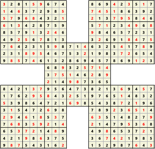 Samurai L(2,1) D(123,11,0,0,0,0)  2013-04-19 000600 Solution