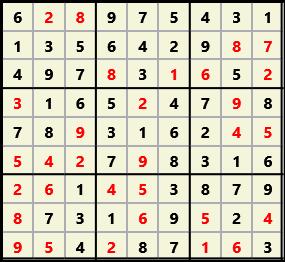 Sudoku 9X9 L(1,1) D(31,7,0,0,0,0)  2013-04-18 174455 Solution