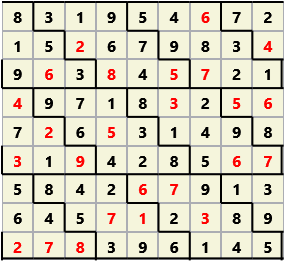 Diamond L(2,1) D(25,9,0,0,0,0) 2013-01-07 235625 Solution