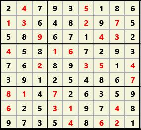 Sudoku 9X9 L(1,1) D(27,7,0,0,0,0)  2013-03-29 111651 Solution